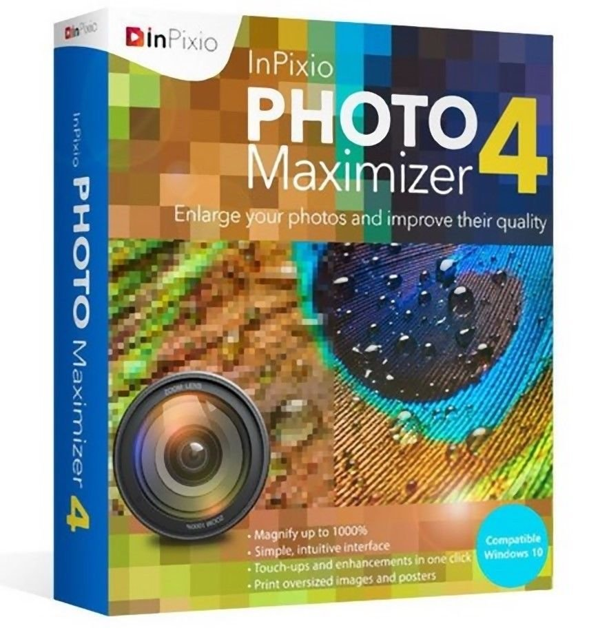 [Lifetime] InPixio Photo Maximizer 4 (2020 Latest Version) [Windows]