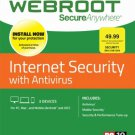 Webroot Internet Security + Antivirus - 3 Devices [6 Month Subscription]