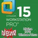 [Lifetime] VMware Workstation 15 Pro - 10PC (2020 Latest Version) [Windows & Linux]