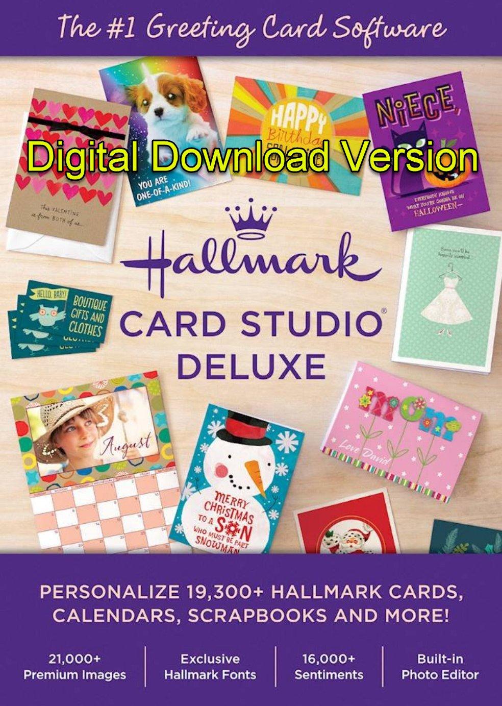 Hallmark Card Studio 2020 Deluxe (Latest Version) [Windows]