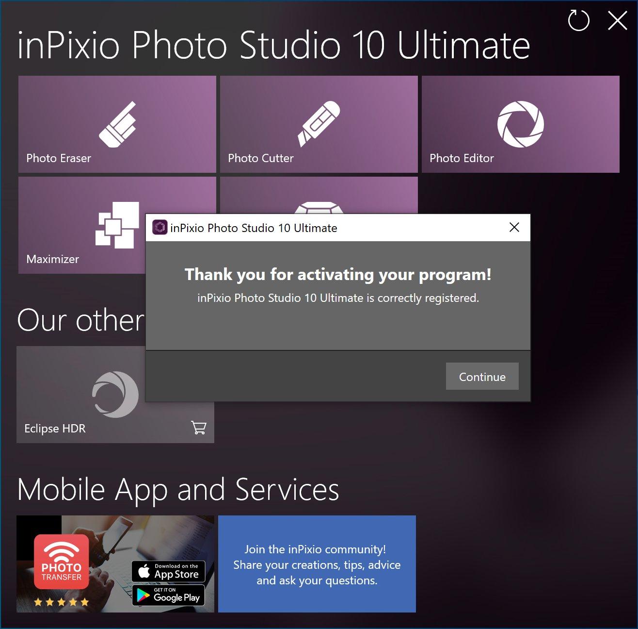 [Lifetime] InPixio Photo Studio 10 Ultimate - 3PC (2020 Latest Version) [Windows]