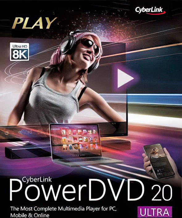 [Lifetime] CyberLink PowerDVD Ultra 20.0 Build 2325.62 - 3PC (2020 Latest Version) - 3 PC