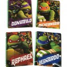 Teenage Mutant Ninja Turtles TMNT set of 4 notebooks! ---1 subject wide ruled