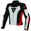 Dainese Jacket Super Speed Textile Cordura White/Red