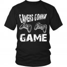 Game over Men shirt, Gamers gonna game funny men t shirt