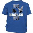 Fly Eagles Fly Zouth Kids Unisex Shirt Philadelphia Football T Shirt