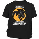 Black Panther T'Challa Ruler of Wakanda Kids Youth Shirt What's Your Superpower