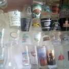 SHOT GLASSES and... LOT OF 20 PLUS - STAR TREK, LED ZEPPELIN, DISNEY LAND, MANY