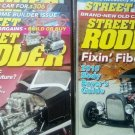 STREET RODDER - MAGAZINES - YEAR 2009 TO 2010 - QTY 15