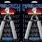 2 Ironmind Captains of Crush CoC grippers hand strength 140lb No 1 / 195lb No 2