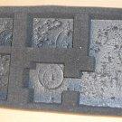 Army Transport Pluck Foam Tray Sabol 13 x 7.75 x 2    2C