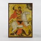 Christian Icon of Saint George, catholic and orthodox icons