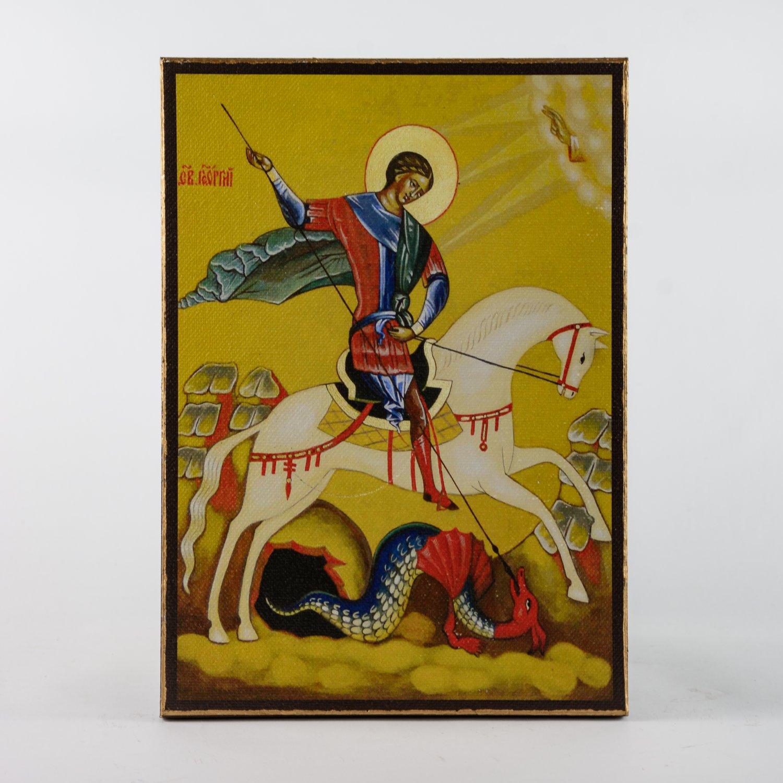 Christian Icon of St. George, catholic and orthodox icons