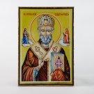 Christian Icon of Saint Nicolas, catholic and orthodox icons