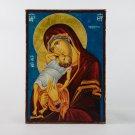 Christian Icon Madonna with Jesus, catholic and orthodox icons