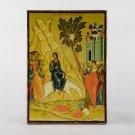 Christian Icon Entry into Jerusalem, catholic and orthodox icons