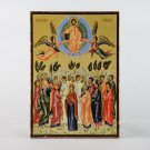 Christian Icon Ascension of Jesus Christ, catholic and orthodox icons