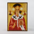 Christian Icon of St. Nicolas, catholic and orthodox icons