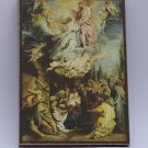 Coronation of the Virgin, Painting by Peter Paul Rubens, print canvas with handmade finishes