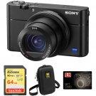 Sony Cyber-shot DSC-RX100 V Digital Camera with Free Accessory Kit  Price 250usd