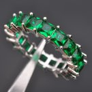 AAA Quality Green Stone Cubic Zirconia For Women  925 Sterling Silver Jewel
