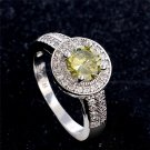 H:HYDE Size 7 9 Fashion Zirconia Silver color Rings for Women Engagement Gi