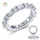 Peacock Star Solid 925 Sterling Silver Wedding Band Stacking Ring Jewelry C