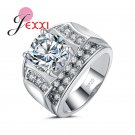 PATICO Fashion Brand Design Stamped 925 Silver Rings For Women And Men AAA