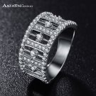 ANFASNI Valentine's Day Luxury Rings With High Quality Golden Color AAA Cub