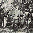 Somoa Natives Men and Boys late 1800s