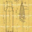 7.62 mm cartridge Poster Mosin Nagant rifle gun m 1891 wall art print drawing