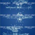 88 mm Flak Gun Poster Patent Print Wall Art Wehrmacht WW2 WWII German Decor Gift