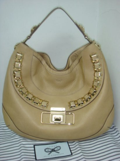 Anya Hindmarch Cholet Hobo - Nude Taupe