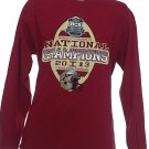 FSU 2014 Vizio BCS National Championship Florida State Seminoles L/S Shirt Sz L