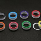 2014 new arrival oil drip color screws fit big size ear plugs flesh tunnel
