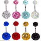 Louleur 2017 Stainless Steel Belly Button Rings Navel Piercing Jewelry Top