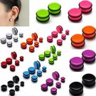 High Quality Ear Gauges 12 pcs/Lot 10 20mm 8 Color Stretcheing Expander Int