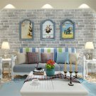Blooming Wall: 3d Stone Textured Brick Wallpaper Wall Paper for Rolls Wall for