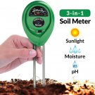 Soil PH Meter, 3-in-1 Soil Test Kit For Moisture, Light and PH, A Must Have For