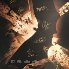 BATMAN BEGINS signed movie poster