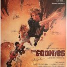 The goonies Signed Movie Poster