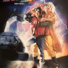 Back to the Future Part II Signed Movie Poster