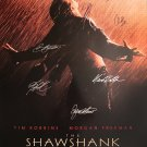 Shawshank Redemption  Signed Movie Poster