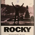 Rocky Signed Movie Poster Signed Movie Poster