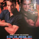 Double impact Signed Movie Poster Signed Movie Poster