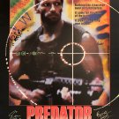 Predator Signed Movie Poster Signed Movie Poster