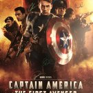 Captain america the first avenger Signed Movie Poster Signed Movie Poster