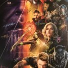 Avengers infinity Signed Movie Poster