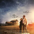 INTERSTELLAR MOVIE POSTER SIGNED BY CAST