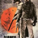 DJANGO UNCHAINED Signed Movie Poster
